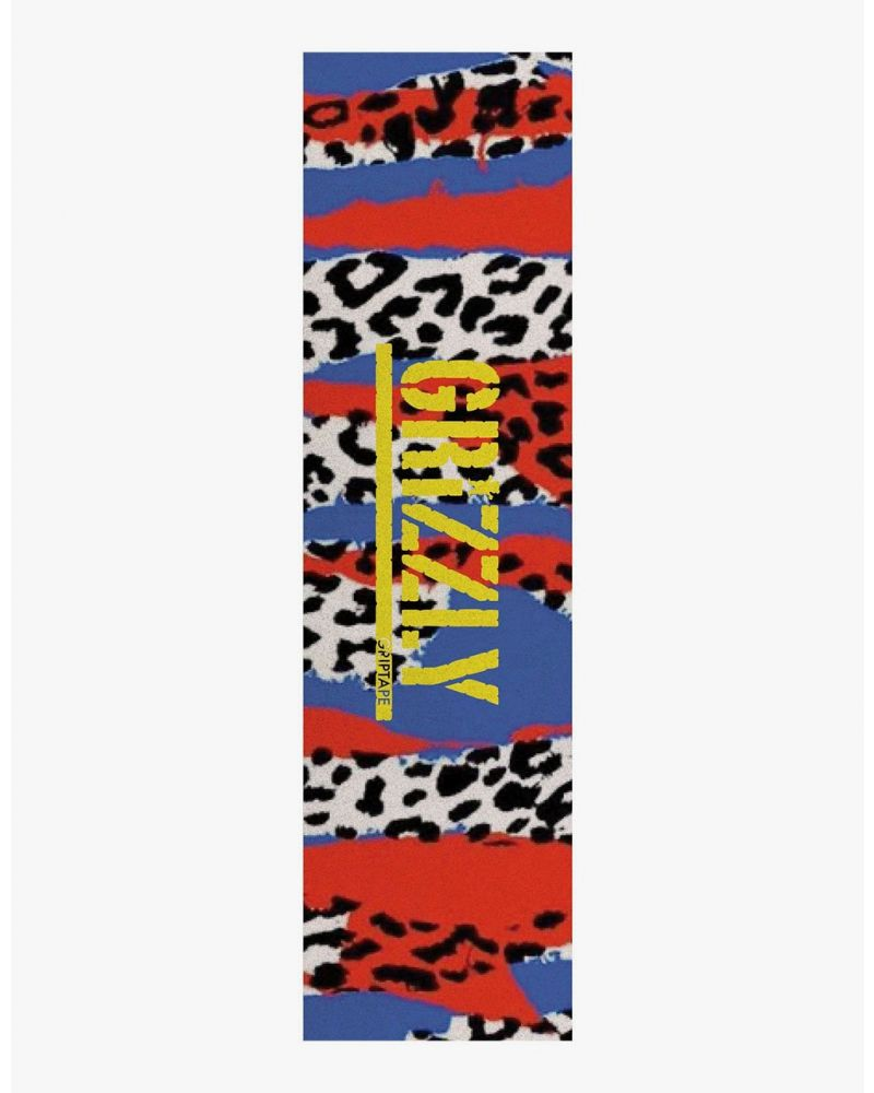 GRIZZLY ANIMAL PANEL GRIP TAPE