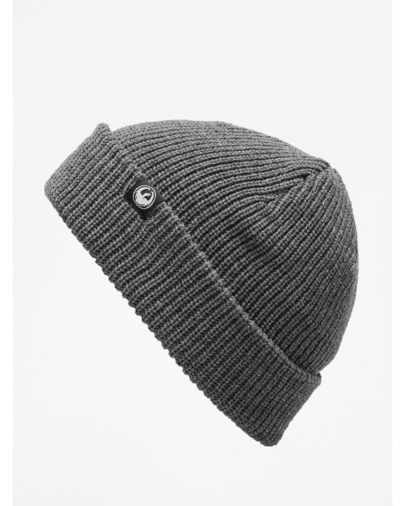 COOL BEANS BEANIE HEATHER GRAY