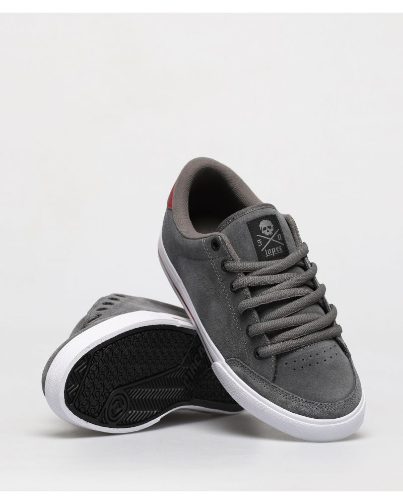 LOPEZ 50 Charcoal/Brick/ White