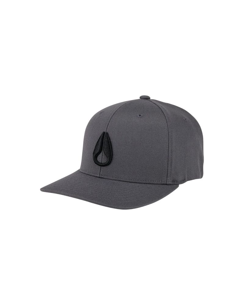 Deep Down FF Athletic Fit Hat Charcoal / Black