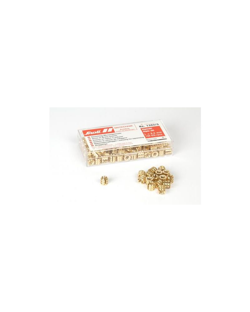 DRIVE-IN INSERTS,100 pcs/pk - 8.5mm (1302/S)