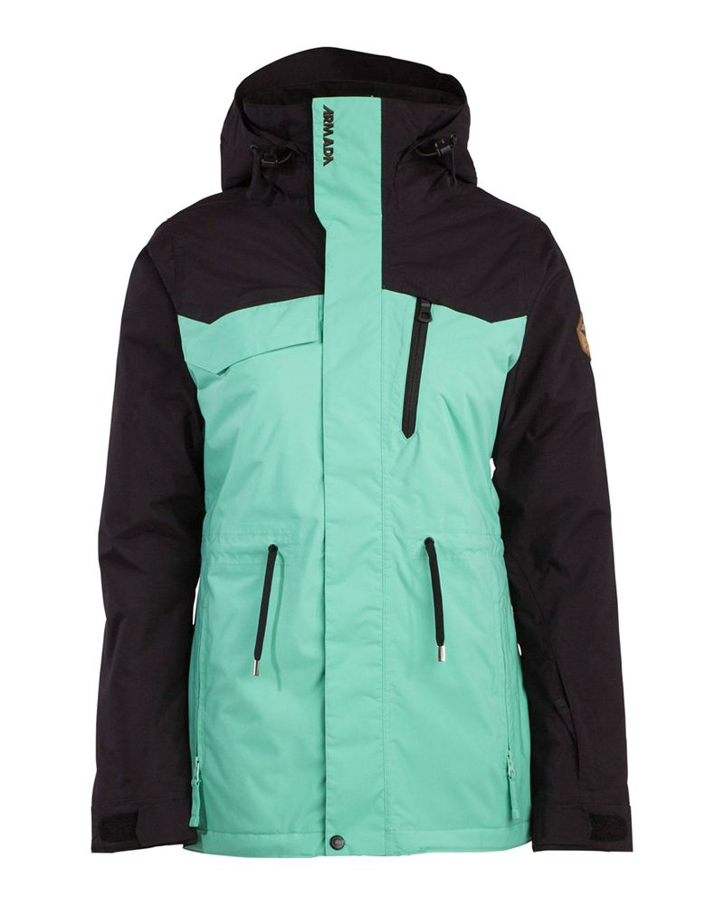BACKYARD INSULATED JACKET - Jade
