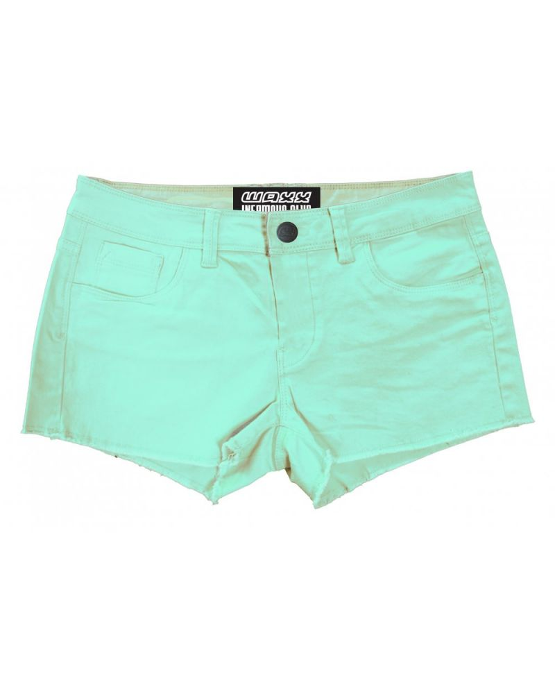 LADY'S HYBRID SHORT - Chicas Green