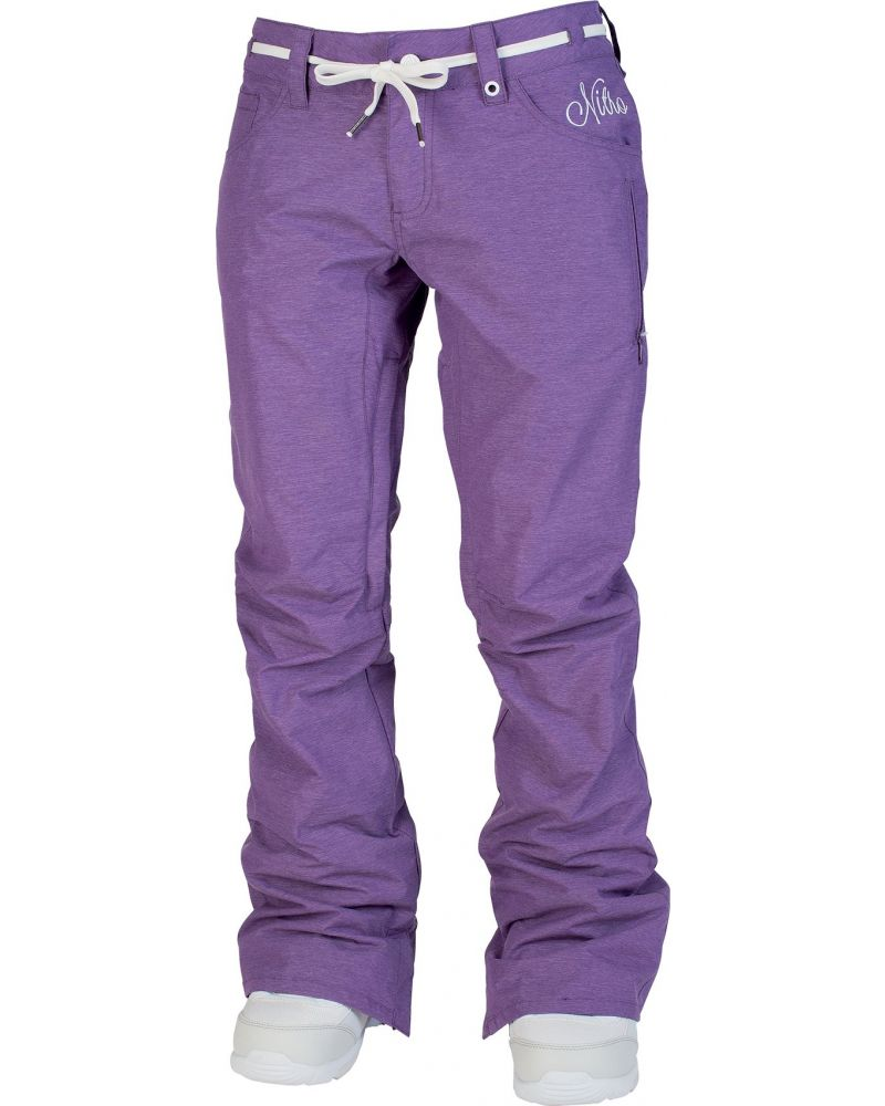 Metric Snowboard Pants Purple