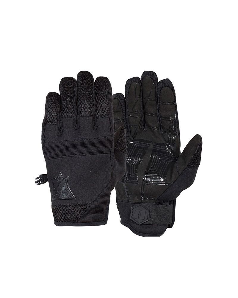 THROTTLE PIPE GLOVE BLACK
