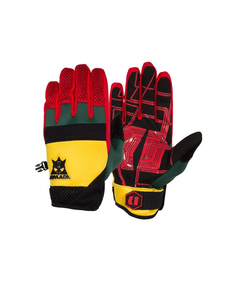 THROTTLE PIPE GLOVE - RASTA