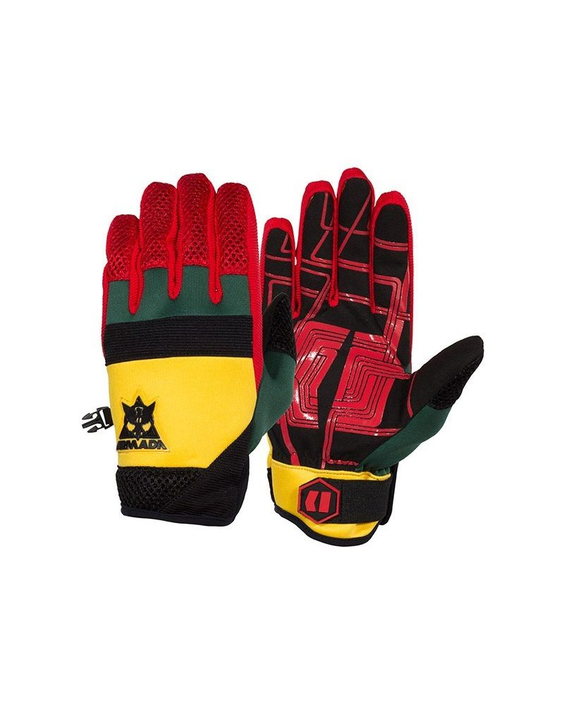 THROTTLE PIPE GLOVE RASTA