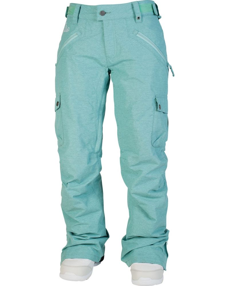 Static Snowboard Pants Aqua