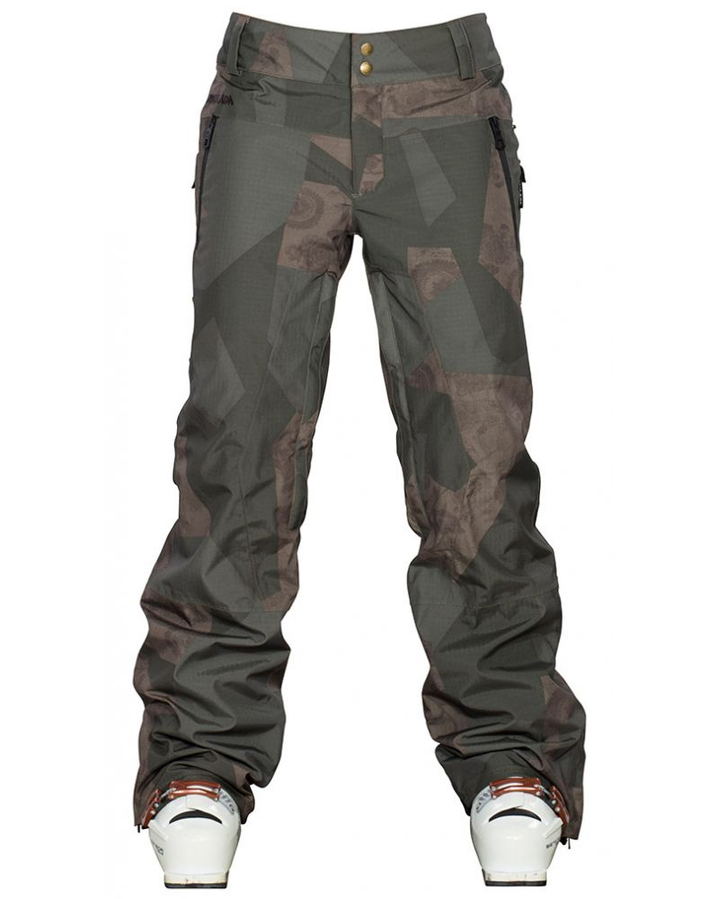 SYNTH INSULATED PANT - GEOFLORAL