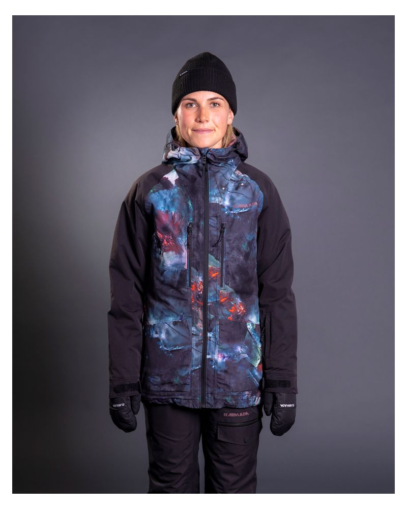 Stadium Insulated Jacket Glacial Bloom