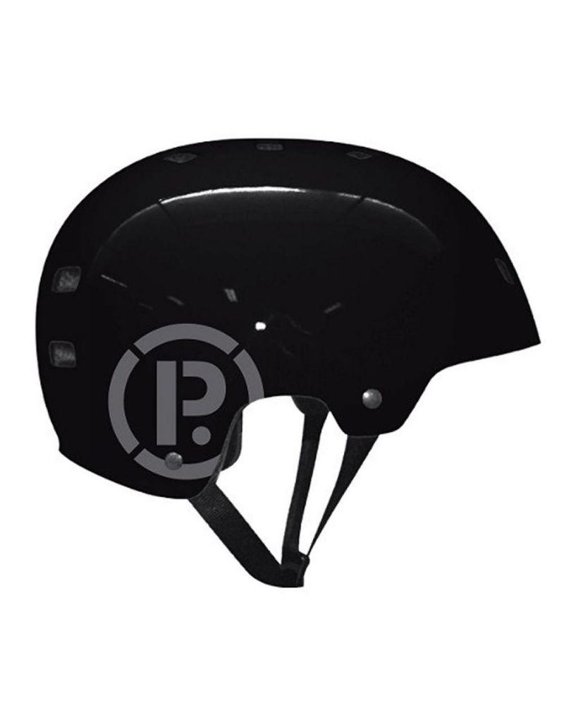 HELMET SKATEBOARD Gloss black