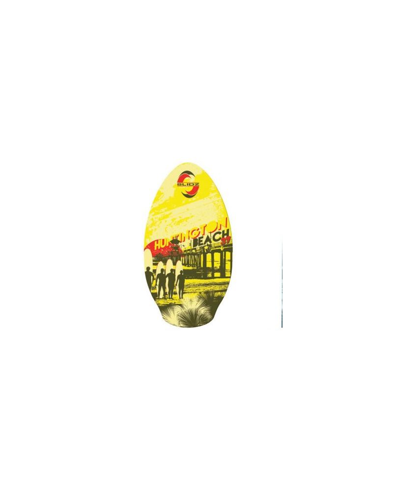 TEKKNO SLIDZ Skimboard Huntington Beach - Yellow 37''