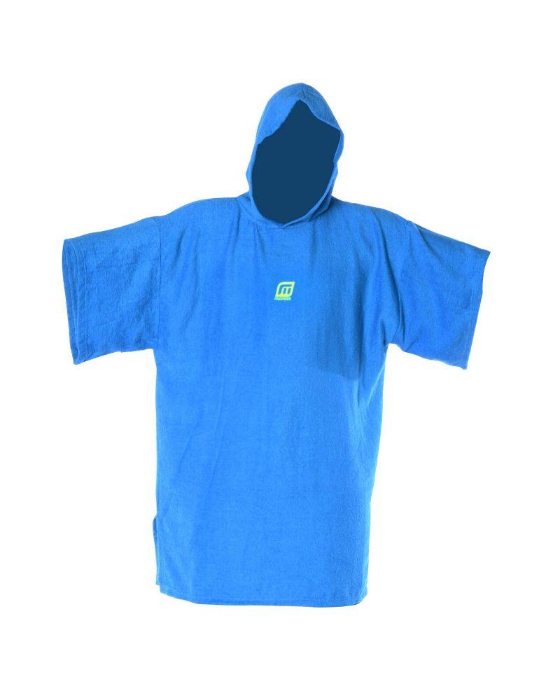 Change Robe Poncho Blue