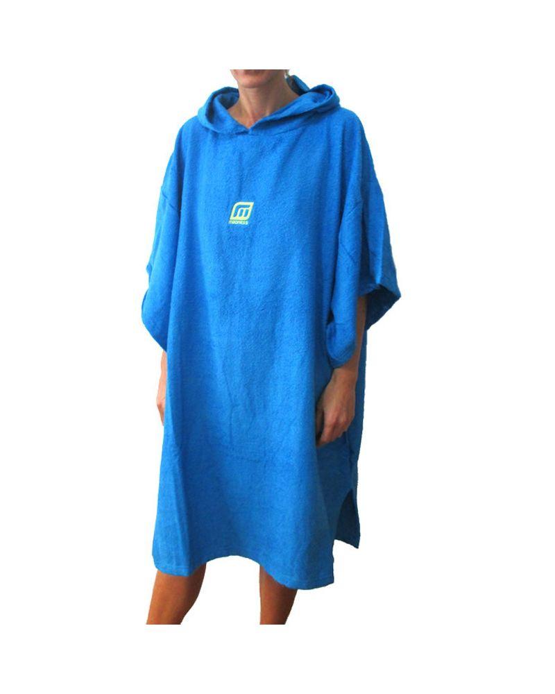 Poncho Unisize Blue