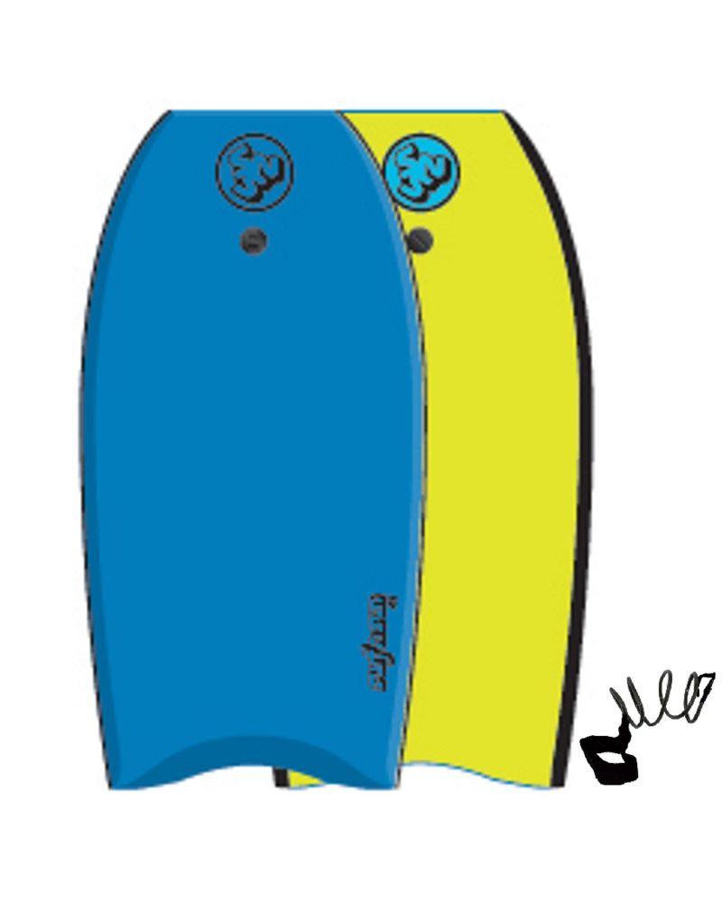 Bodyboard Similar Blue Yellow 39