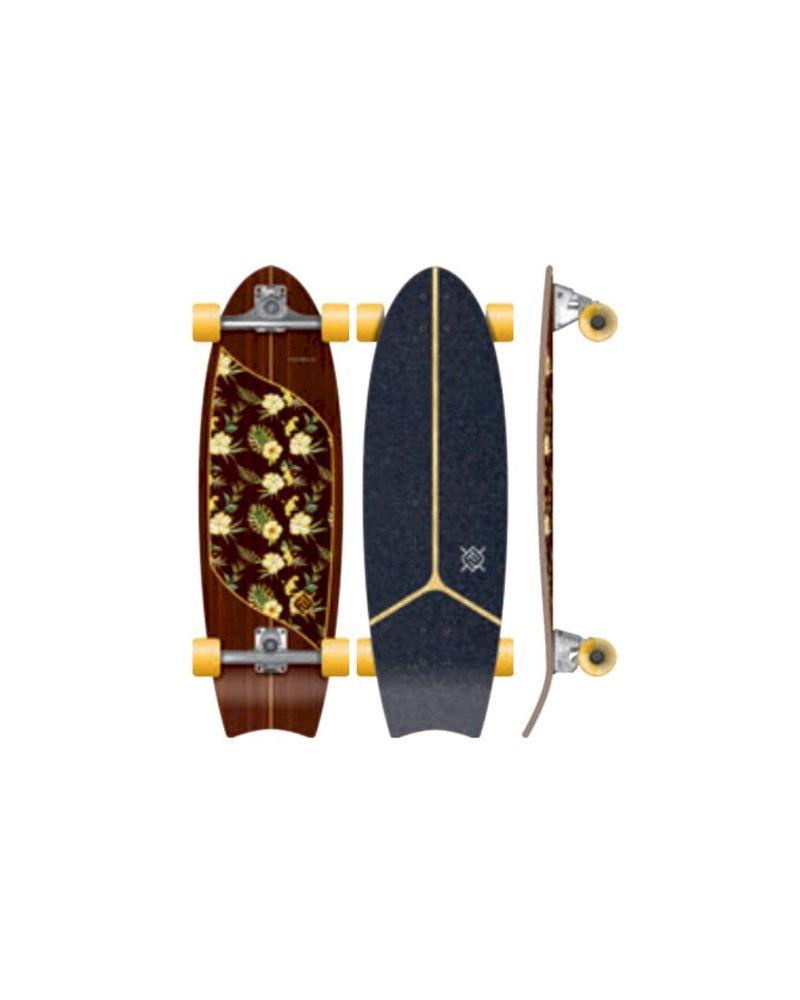 31 Surf Skateboard  Stir Surf Truck Moorea Plumeria