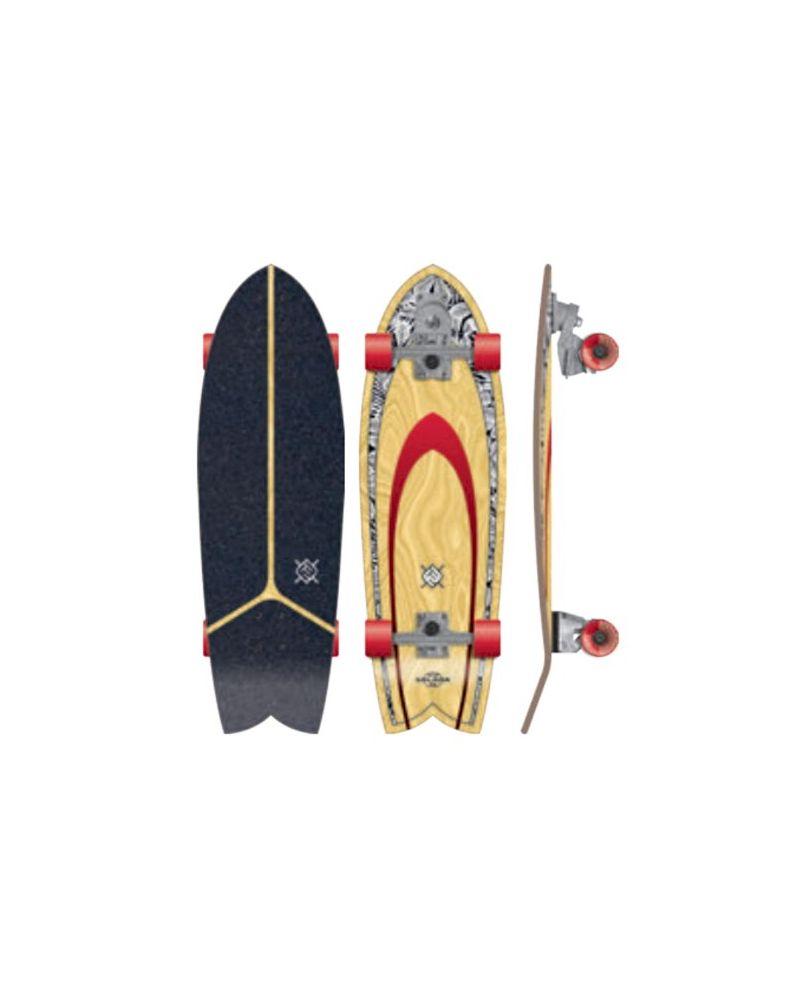 32 Surf Skateboard Lombard Solana Blackleaf