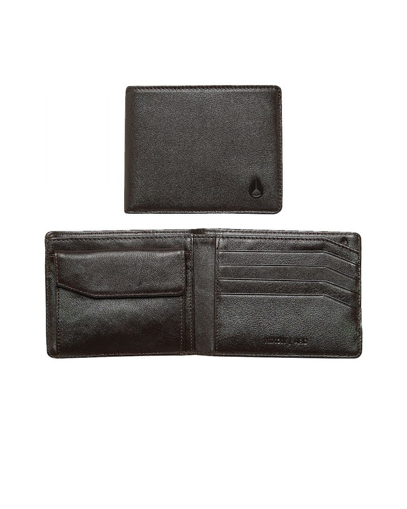 Arc bi-fold wallet - Brown