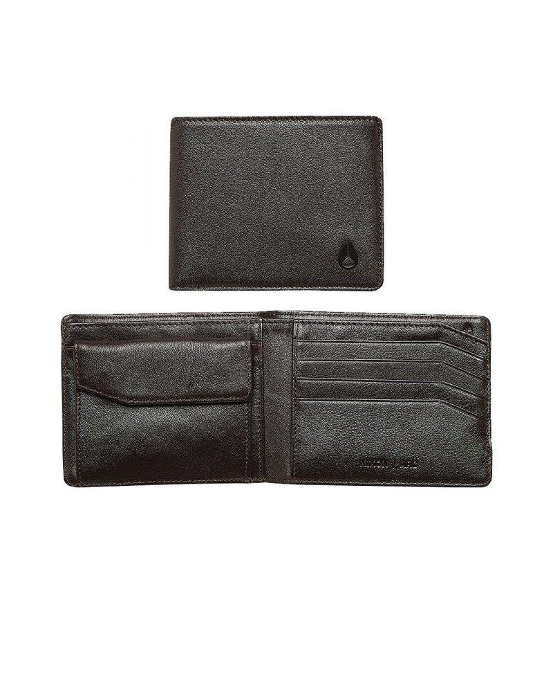 Arc bi-fold wallet - Brown