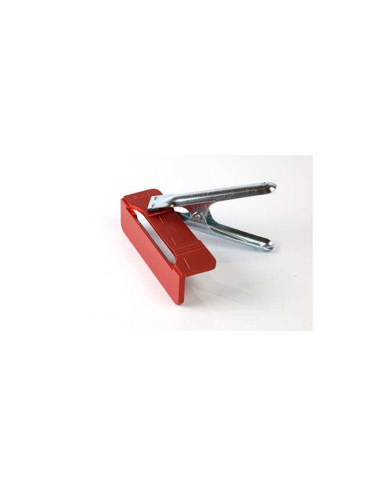 Tyrol File Holder With Clamp - 88* RED (403/R/88)