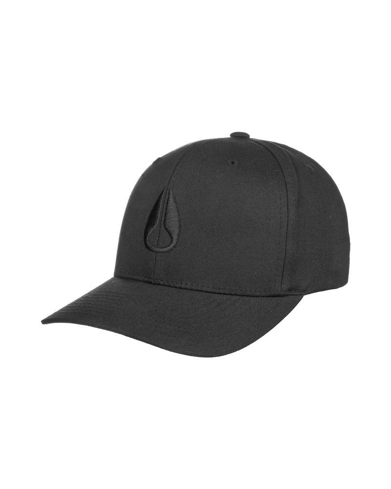 Wings Strapback Hat Black