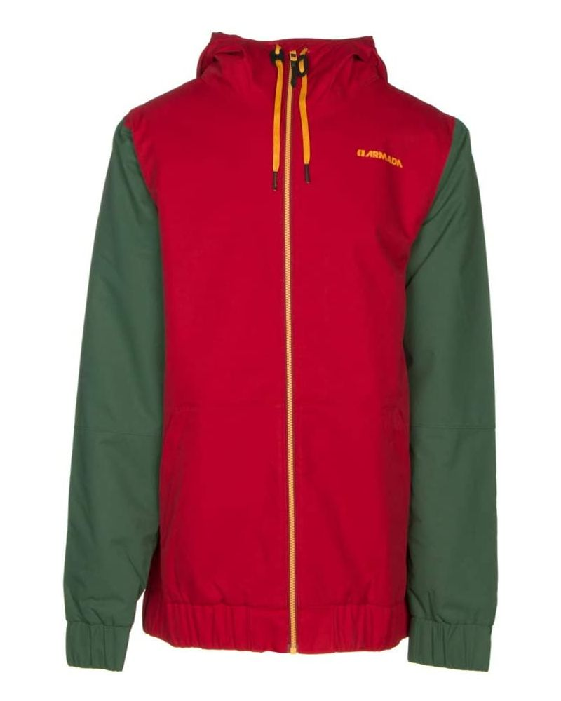 Baxter Insulated Jacket Red Chili