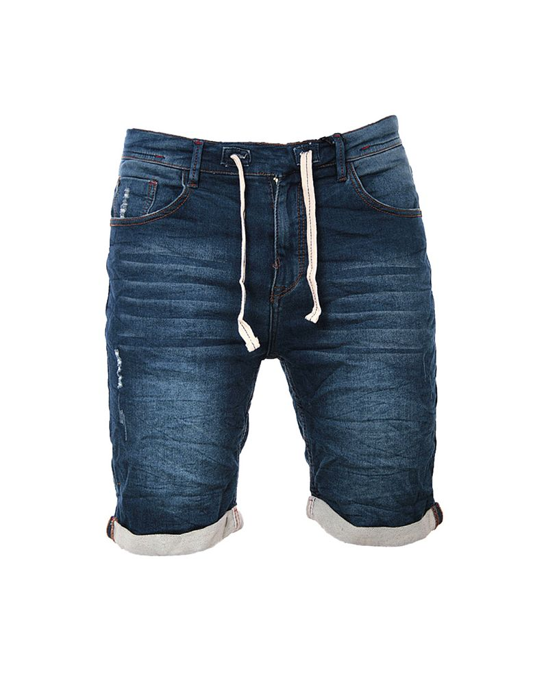 MEN JOGGJEAN SHORT - Washed Raw