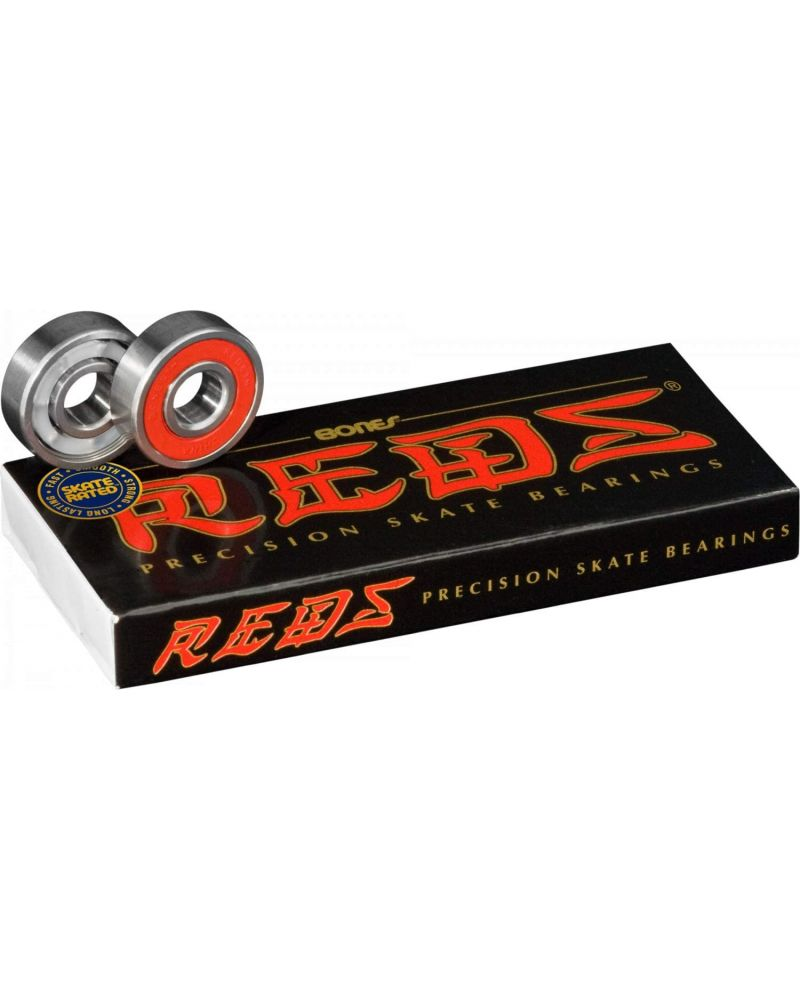 BEARINGS 8 PACK RED