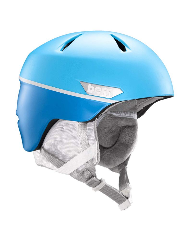 WESTON Jr. Zipmold Helmet  Matte Sky Blue Split
