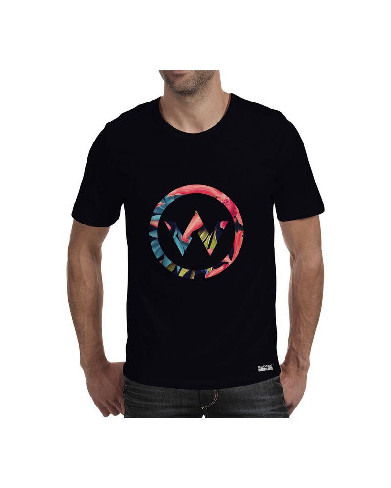 MEN T-SHIRT - Logo Flower