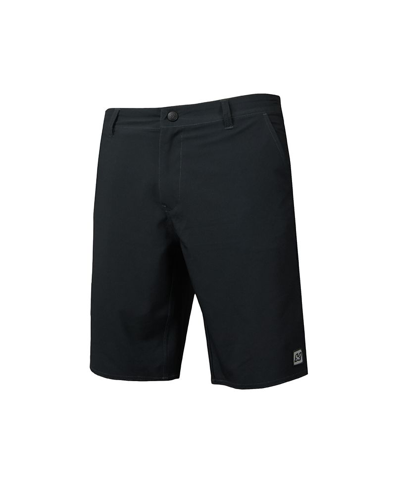 MEN HYBRID SURFSHORT URBAN - Black