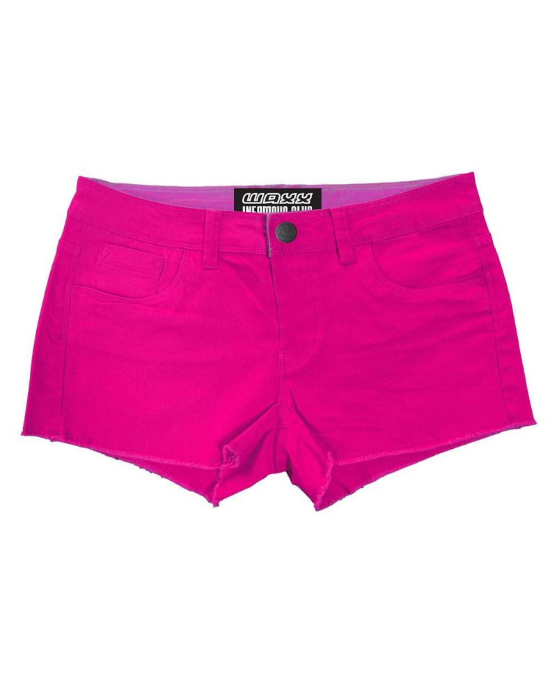 LADY'S HYBRID SHORT - Chicas Raspberry