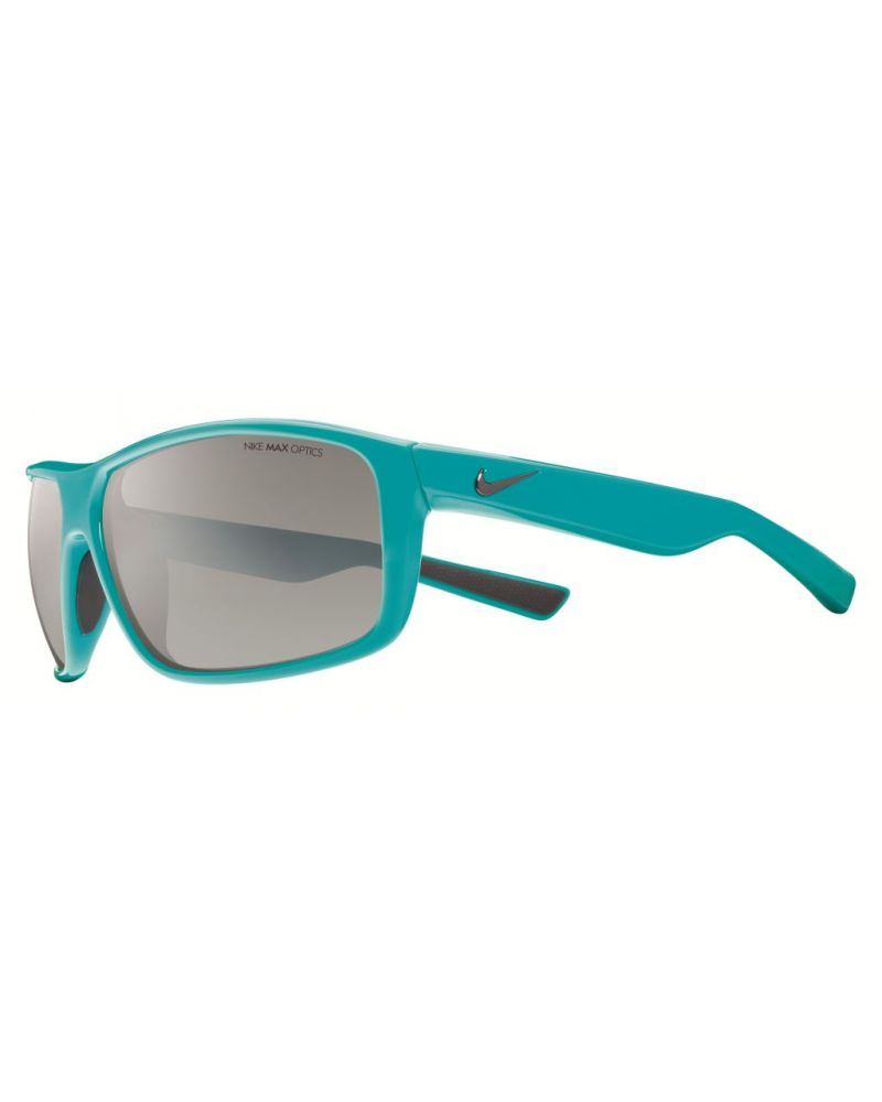 Premier 8.0 Turbo Green - Grey W Silver Flash Lens