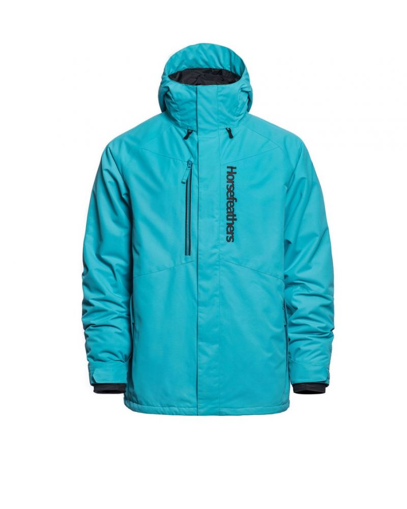GLENN JACKET scuba blue