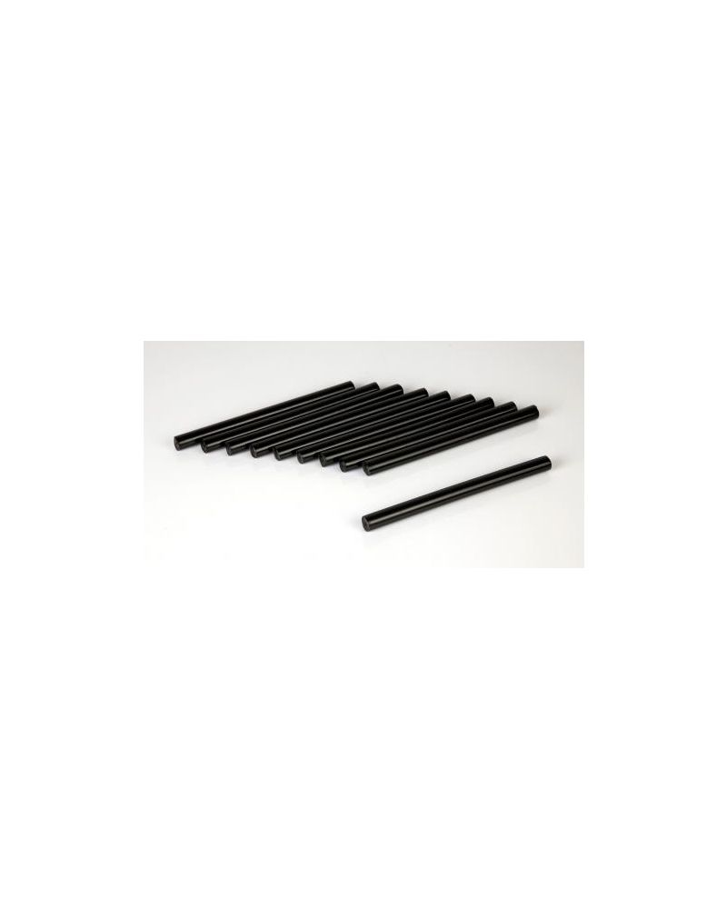 POLYGUN REFILL STICKS - BLACK 11,5 mm (801/110)
