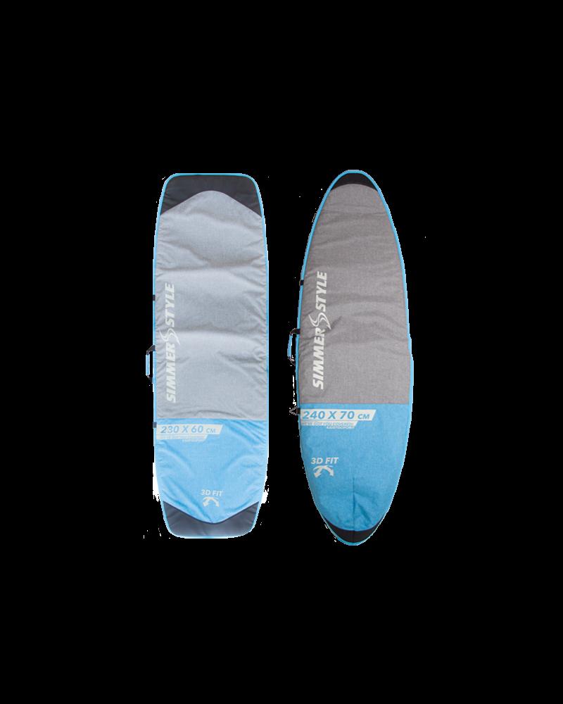 240x75 SINGLE BOARD BAG BLUE / HEAVY DUTY GRAY