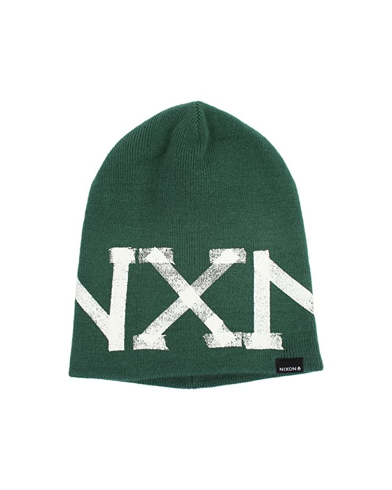 TAPED BEANIE POSY GREEN