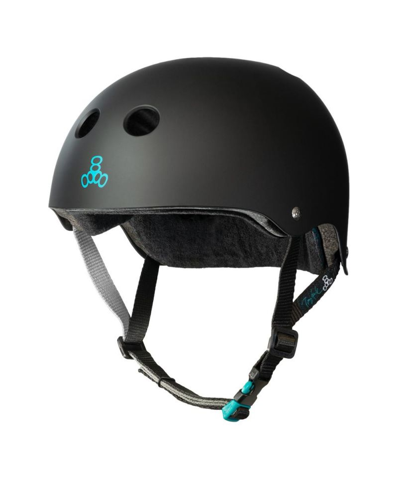 Tony Hawk Pro Model Helmet Black Rubber