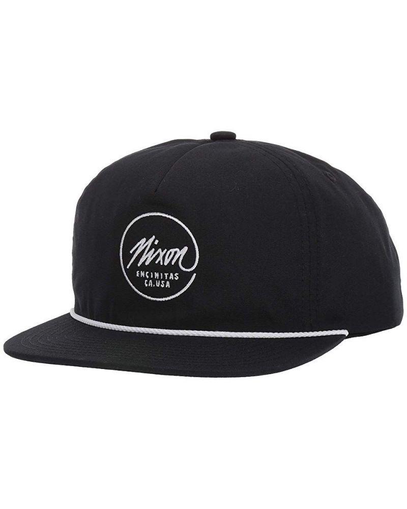 Sessions Snapback Hat Black