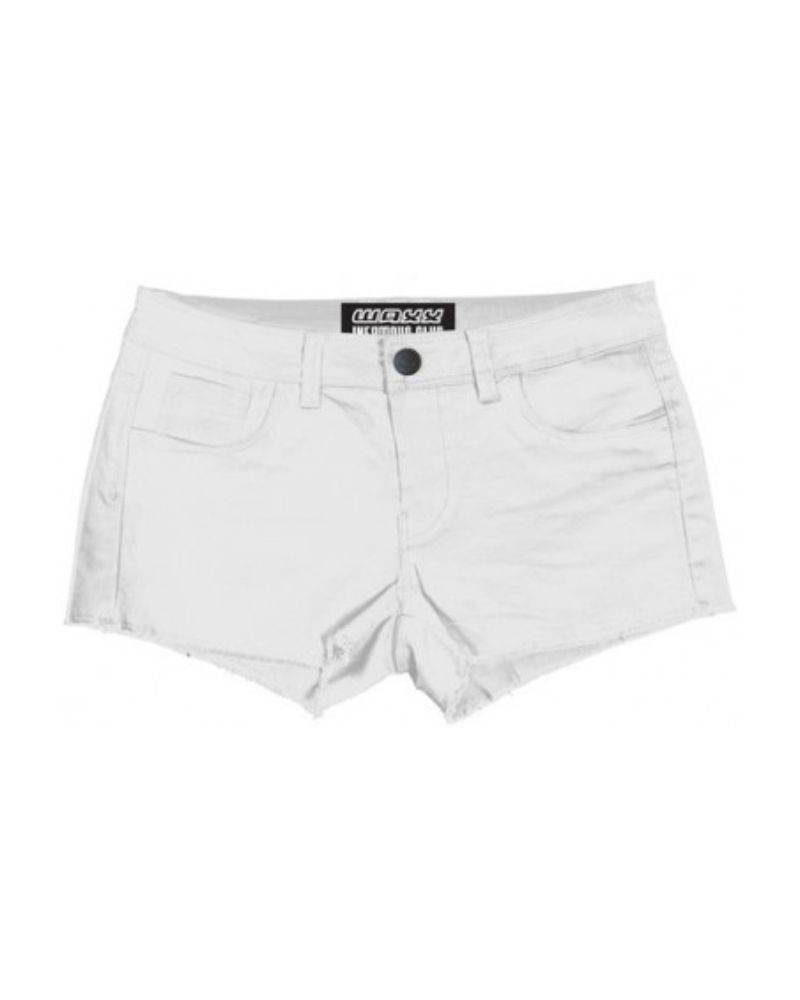 LADY SHORT HYBRID CHICAS WHITE