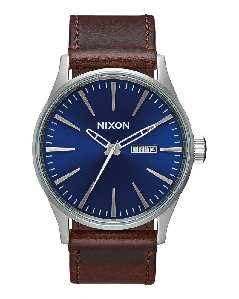 Sentry Leather Blue / Brown