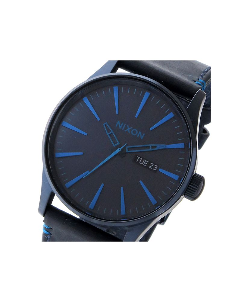 Sentry Leather All Dark Blue