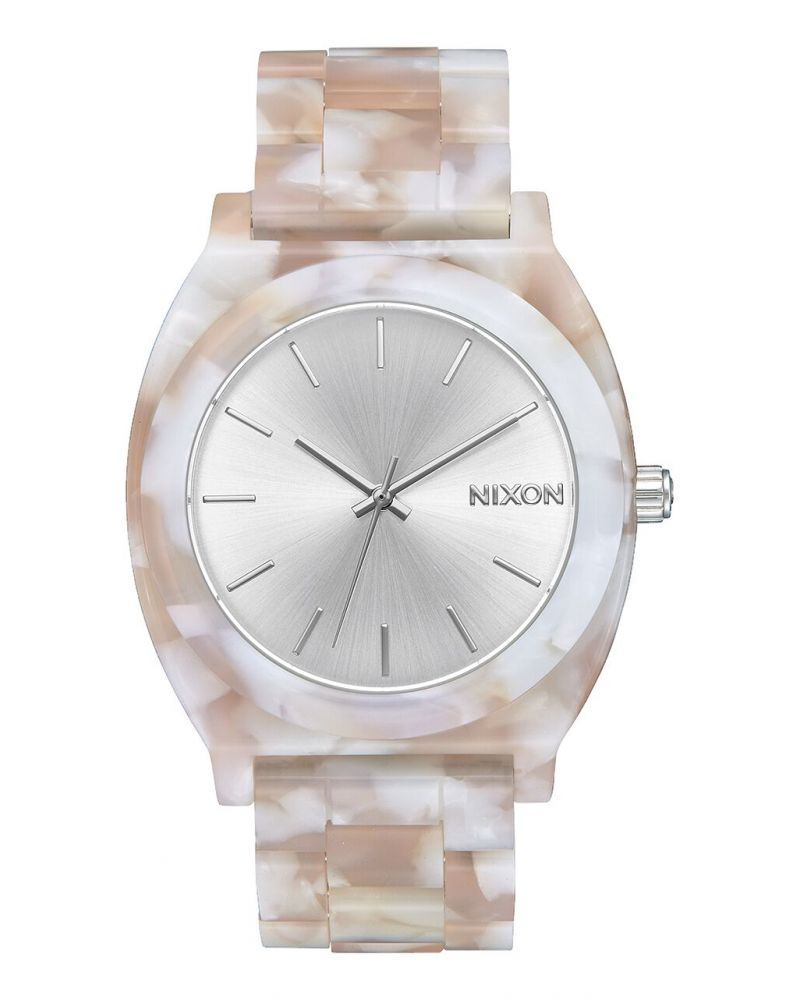 Time Teller Acetate Pink / Silver