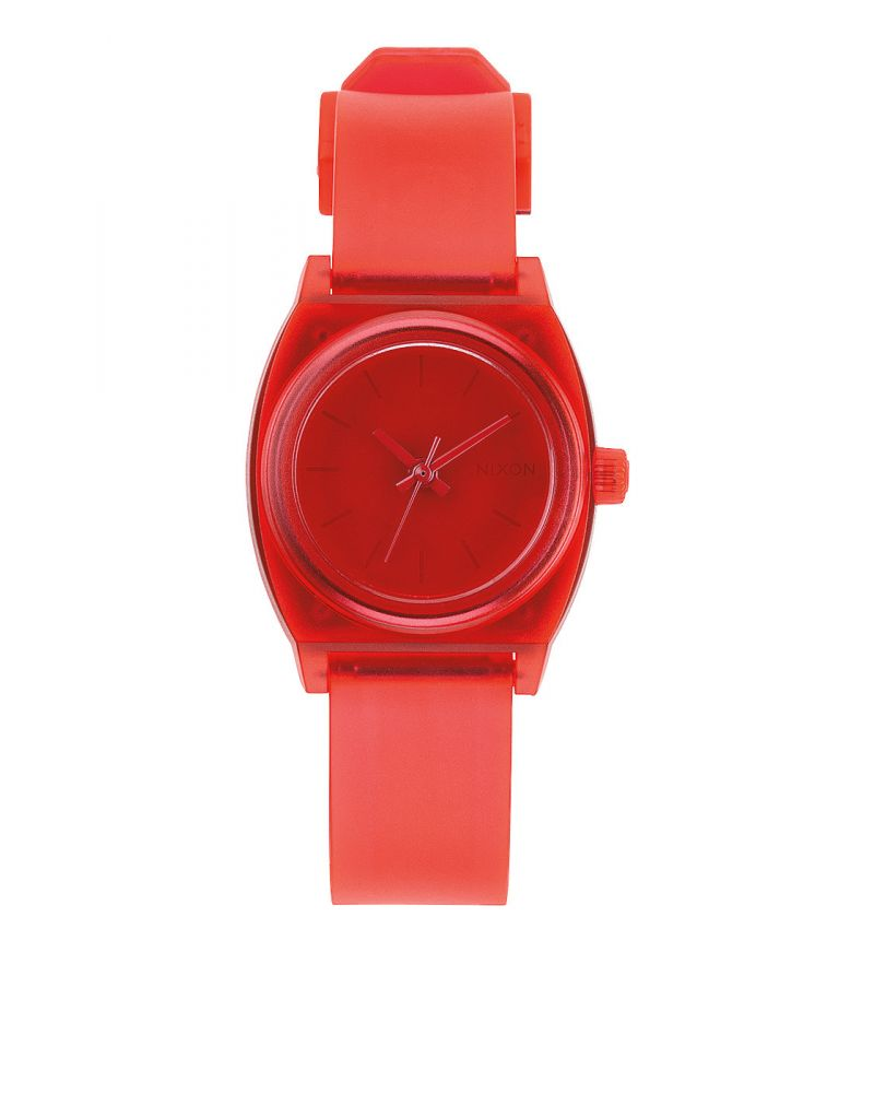SMALL TIME TELLER P - Translucent Coral