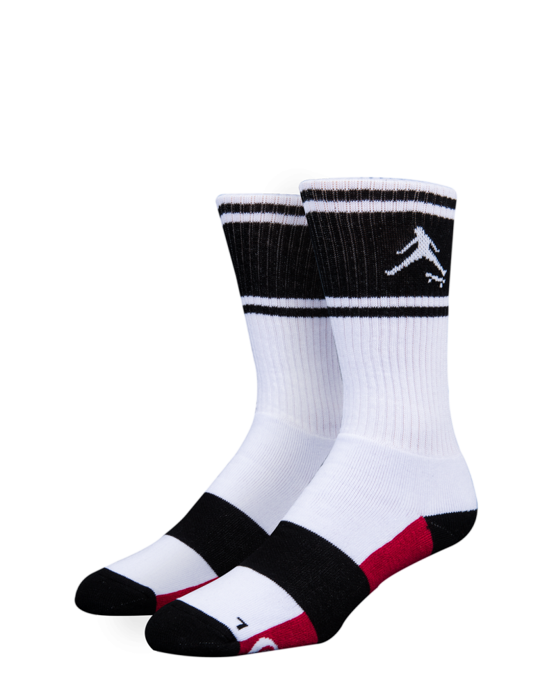 AIR SOCK WHITE/BLACK
