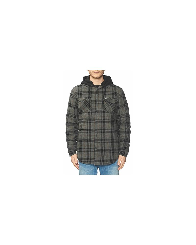 ALFORD III LS SHIRT SLATE GREY