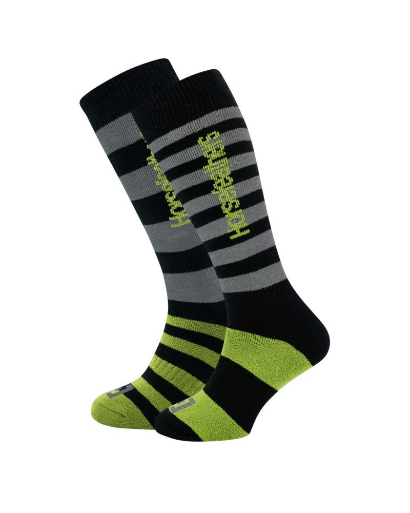 ZANE LONG THERMOLITE  SOCKS apple green