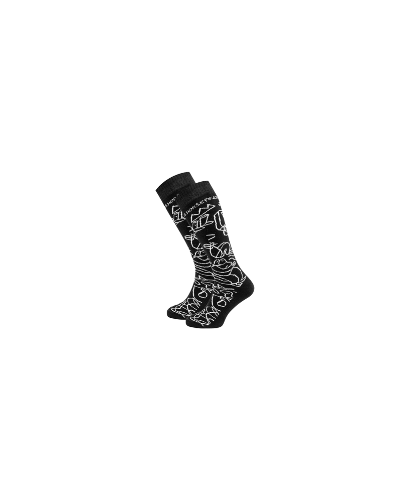 DRAVEN LUCAS Thermolite SOCKS black