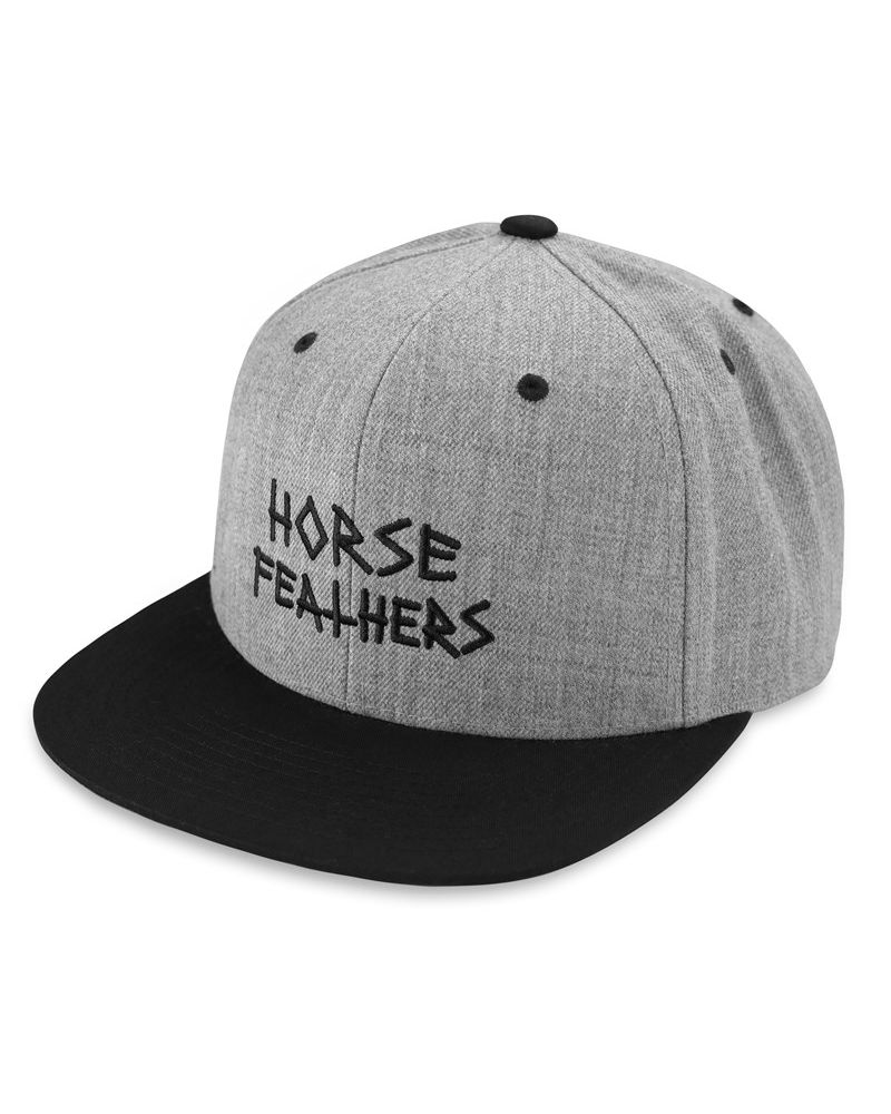 HEATH CAP heather gray