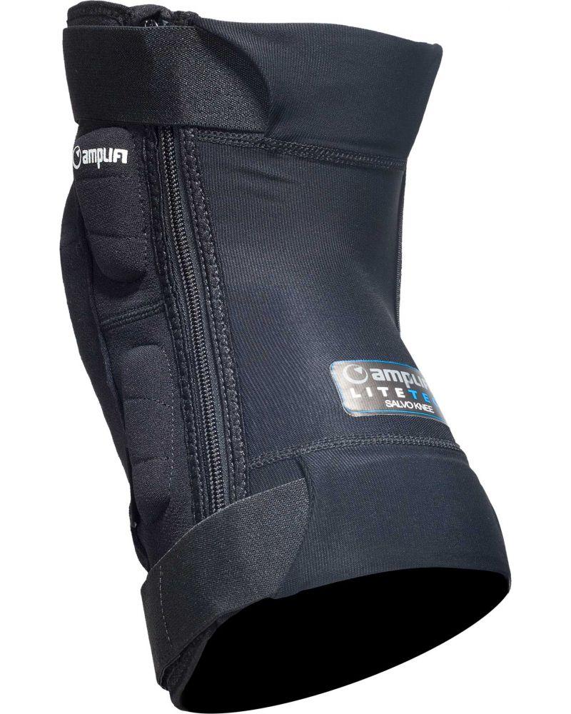 Salvo Polymer Knee Zip Black